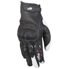 Furygan TD21 Mens Motorcycle Gloves -  Black/White/red - Furygan -  - MSG BIKE GEAR