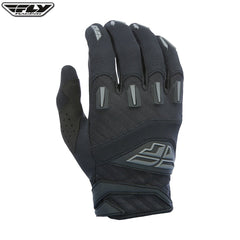 Fly Racing F-16 Youth Motocross Gloves (2017) -  Black