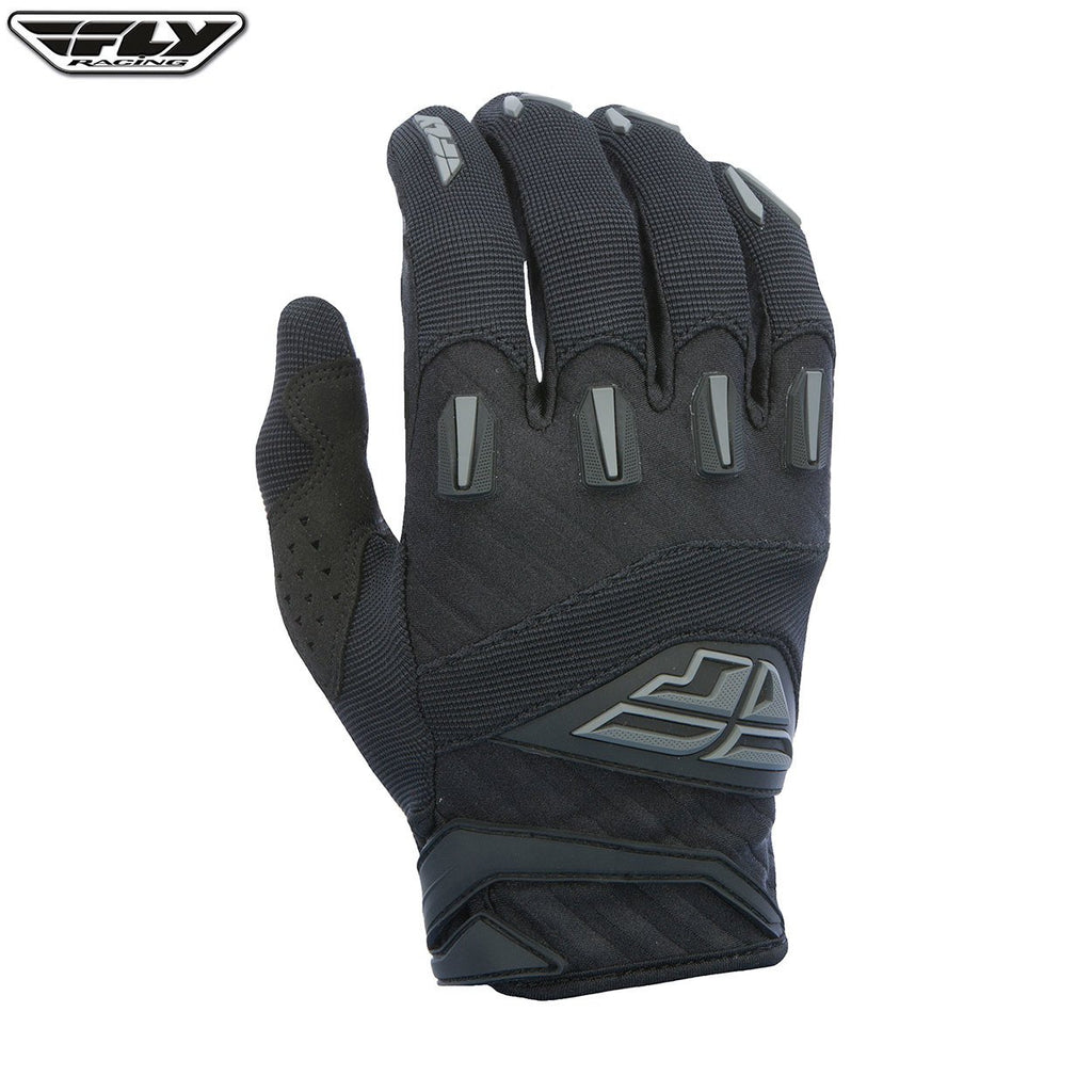 Fly Racing F-16 Adult Motocross Gloves (2017) -  Black