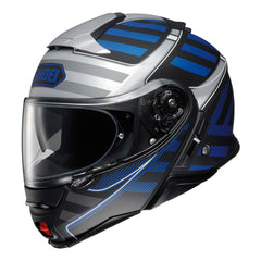 Shoei Neotec 2 Splicer TC2 Motorcycle Motorbike Helmet - Blue