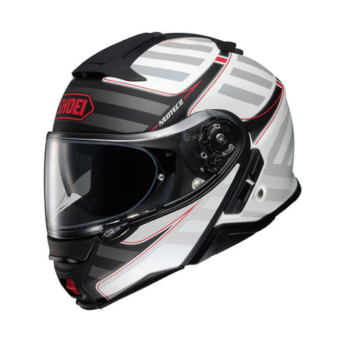 Shoei Neotec 2 Splicer TC2 Motorcycle Motorbike Helmet - White