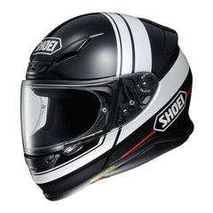 Shoei NXR Philosopher TC5 Motorcycle Motorbike Helmet - Black White