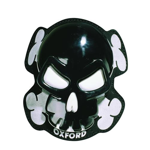 "Oxford ""Skull"" Knee Sliders - Black"