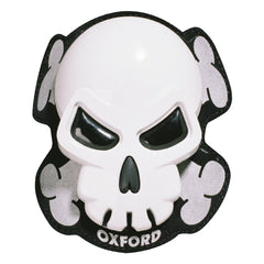 "Oxford ""Skull"" Knee Sliders - White"