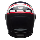 Bell Bullitt Full Face Helmet - Carbon Spitfire Blue/Red UK