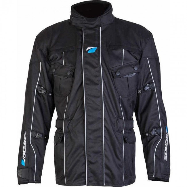Spada Europa Waterproof Textile Jacket - Black