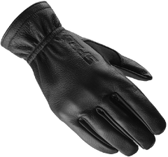 Spidi Thunderbird Leather Gloves - Black