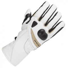 Spada Spritz Ladies Leather Waterproof Gloves - White