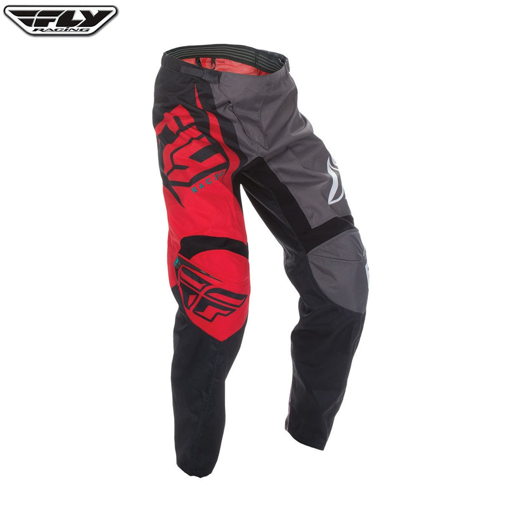 Fly Racing F-16 Adult Motocross Pants (2017) - Red / Black