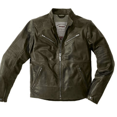 Spidi Garage Classic Leather Jacket - Titanio