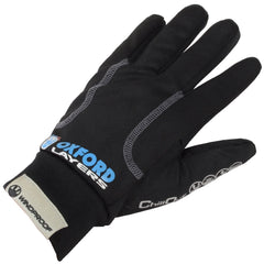 OXFORD MOTORBIKE MOTORCYCLE CHILLOUT WINDPROOF WATER RESISTANT INNER GLOVES - Oxford -  - MSG BIKE GEAR - 1