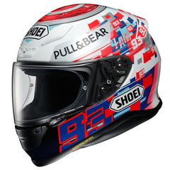 Shoei NXR Helmet - Marc Marquez 93 Replica - Power Up