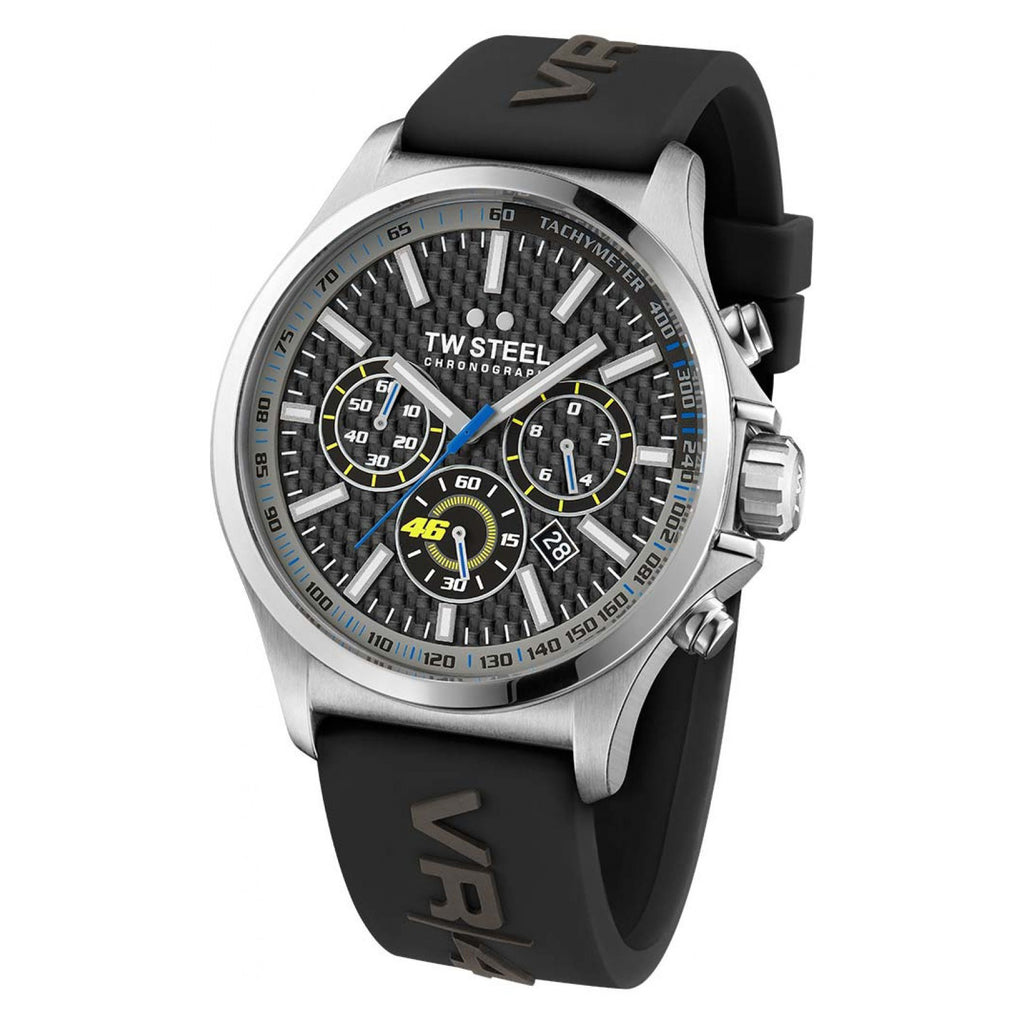 TW Steel Special Edition VR46 Valentino Rossi Pilot TW938 Watch - 45mm - VR46 -  - MSG BIKE GEAR