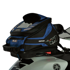 Oxford Q4R Quick Release Motorbike Motorcycle Tank Bag - Blue 4 Litres - Oxford -  - MSG BIKE GEAR - 1