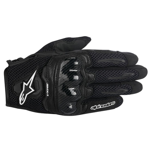 Alpinestars Stella SMX-1 Air Ladies Short Motorcycle Gloves - Black - Alpinestars -  - MSG BIKE GEAR - 1