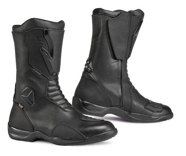 FALCO KODO 2 WATERPROOF CE APPROVED MOTORBIKE MOTORCYCLE TOURING BOOTS BLACK - Falco -  - MSG BIKE GEAR
