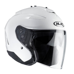 HJC IS-33 II Open Face Helmet - White