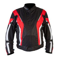 SPADA CURVE LADIES WATERPROOF MOTORCYCLE TEXTILE JACKET BLACKRED New - Spada -  - MSG BIKE GEAR