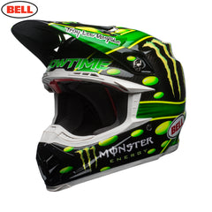Bell MX 2018 Moto-9 Carbon Flex Helmet - Monster Green / Black