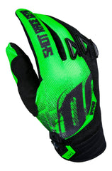 Shot MX Devo Ultimate Kids Motocross Gloves - Black / Neon Green