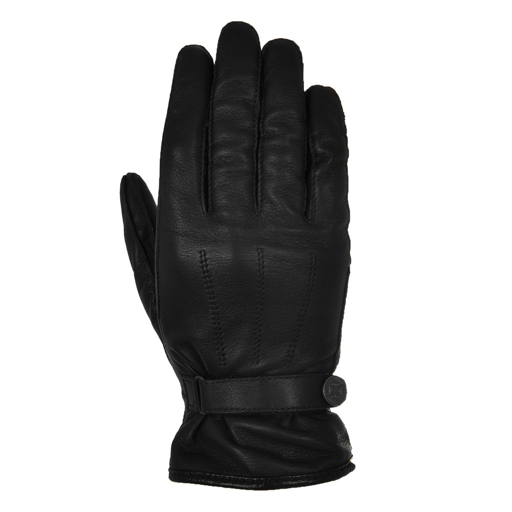 Oxford Holton Classic Short Leather Gloves - Black