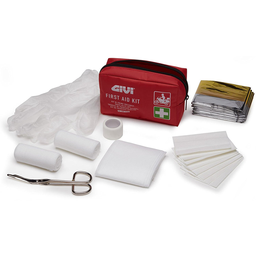 Givi S301 Emergency Portable First Aid Kit DIN13167 - Ideal For Motorcycle