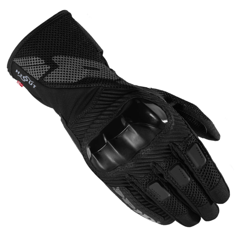 Spidi Rainshield WP Leather / Textile Gloves - Black