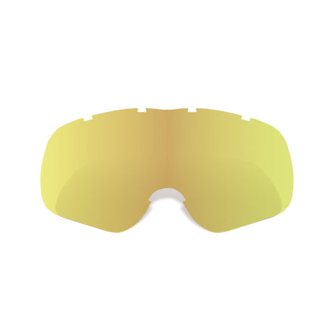 Oxford Replacement Gold Tint Tear Off Lens For Assalt Pro Motocross MX Goggles - Oxford -  - MSG BIKE GEAR