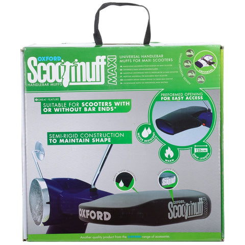 Oxford Scooter Handlebar Warm Winter Dry Scootmuffs  Maxi - OX398 - Oxford -  - MSG BIKE GEAR