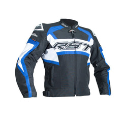 RST 2048 Tractech Evo R Waterproof Textile Jacket - Black / Blue