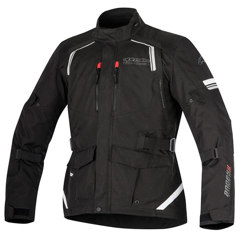 Alpinestars Andes V2 Drystar Waterproof Textile Motorcycle Jacket - Black