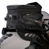 Oxford M40R Magnetic Motorcycle Tank Bag - Black - 40 Litres + Rain Cover - Oxford -  - MSG BIKE GEAR - 1