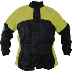 Richa Rain Warrior Waterproof Motorcycle Jacket.Black/Fluo Yellowl - Richa -  - MSG BIKE GEAR - 1