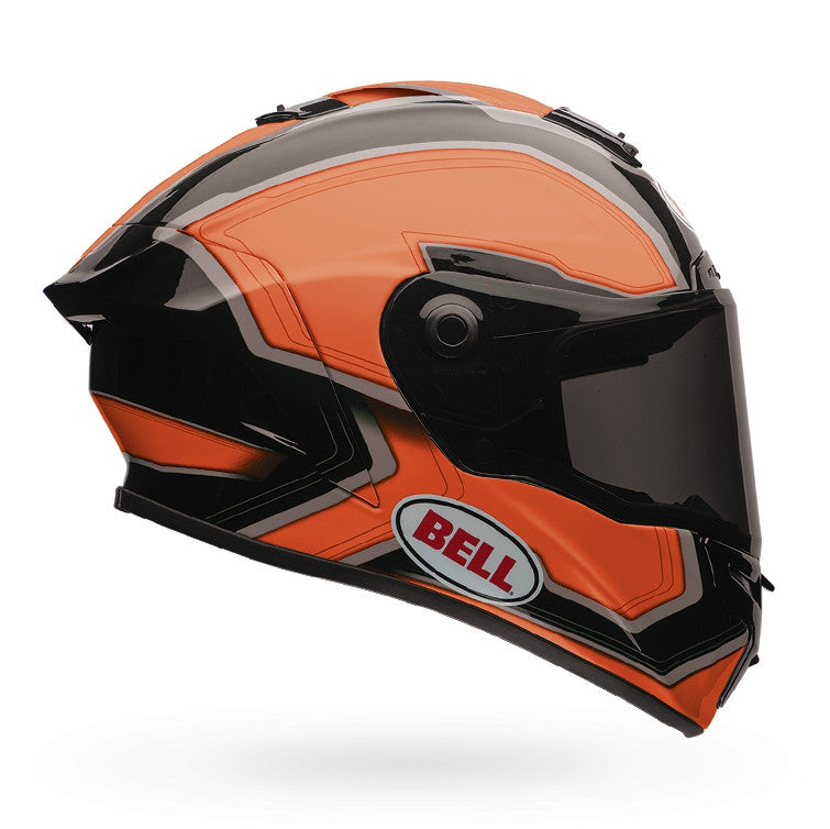 Bell Street 2016 Star Adult Full Face Helmet (Pace Black/Orange) - Bell -  - MSG BIKE GEAR - 1