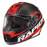 MT Rapide Pro Carbon Helmet - Carbon / Red