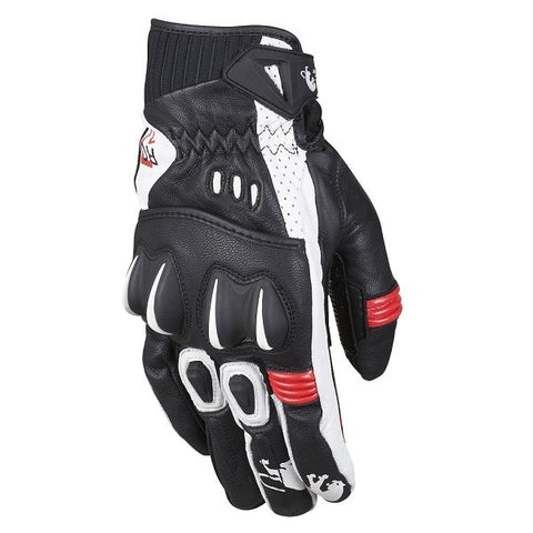 Furygan RG17 Mens Motorcycle Gloves -  Black/red - Furygan -  - MSG BIKE GEAR - 1