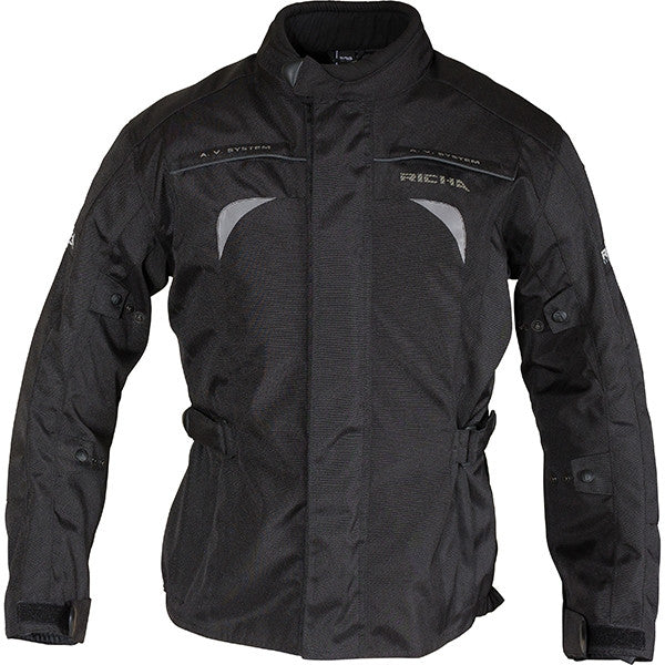 Richa Bolt Waterproof Textile Motorcycle Jacket.Black - Richa -  - MSG BIKE GEAR - 1