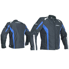 RST 2072 Rider CE Approved Textile Jacket - Black / Blue