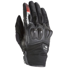 Furygan Graphic Evo Textile Leather Short Gloves - Black