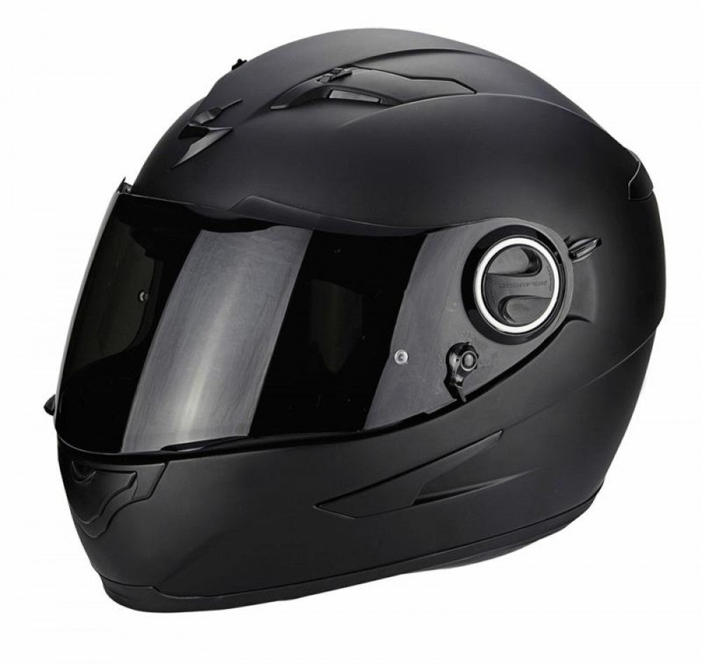 Scorpion Exo 490 Full Face DVS Motorbike Motorcycle Helmet Lid - Matt Black