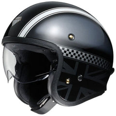 Shoei J.O Open Face Motorcycle Cruiser Scooter Helmet + Visor - Hawker TC5 - Shoei -  - MSG BIKE GEAR