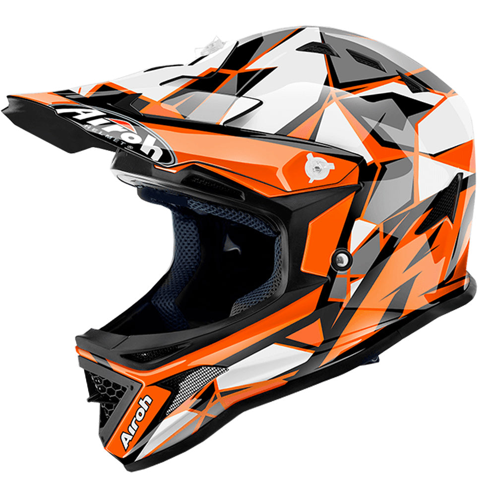 Airoh Archer Youth MX Helmet - Chief Orange