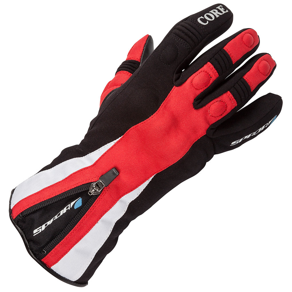 Spada Core Waterproof Thermal Ladies Motorbike Motorcycle Gloves - Black/Red - Spada -  - MSG BIKE GEAR - 1