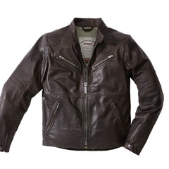 Spidi Garage Classic Leather Jacket - Brown