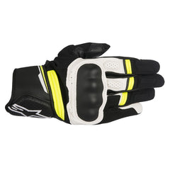 Alpinestars Booster Gloves - Black / White / Yellow
