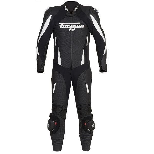 Furygan Dark Apex 1 Piece Perforated Track Race Motorcycle Suit - Black - Furygan -  - MSG BIKE GEAR - 1