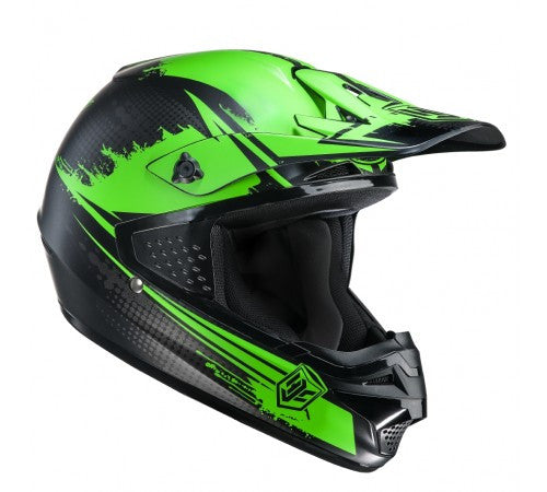 HJC CS-MX Enduro Off Road Motocross MX Helmet Zealot MC4SF Green - HJC -  - MSG BIKE GEAR - 1
