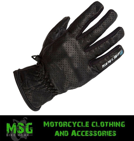 SPADA DRIVER TOUCH MOTORCYCLE MOTORBIKE SCOOTER GLOVES BLACK - Spada -  - MSG BIKE GEAR