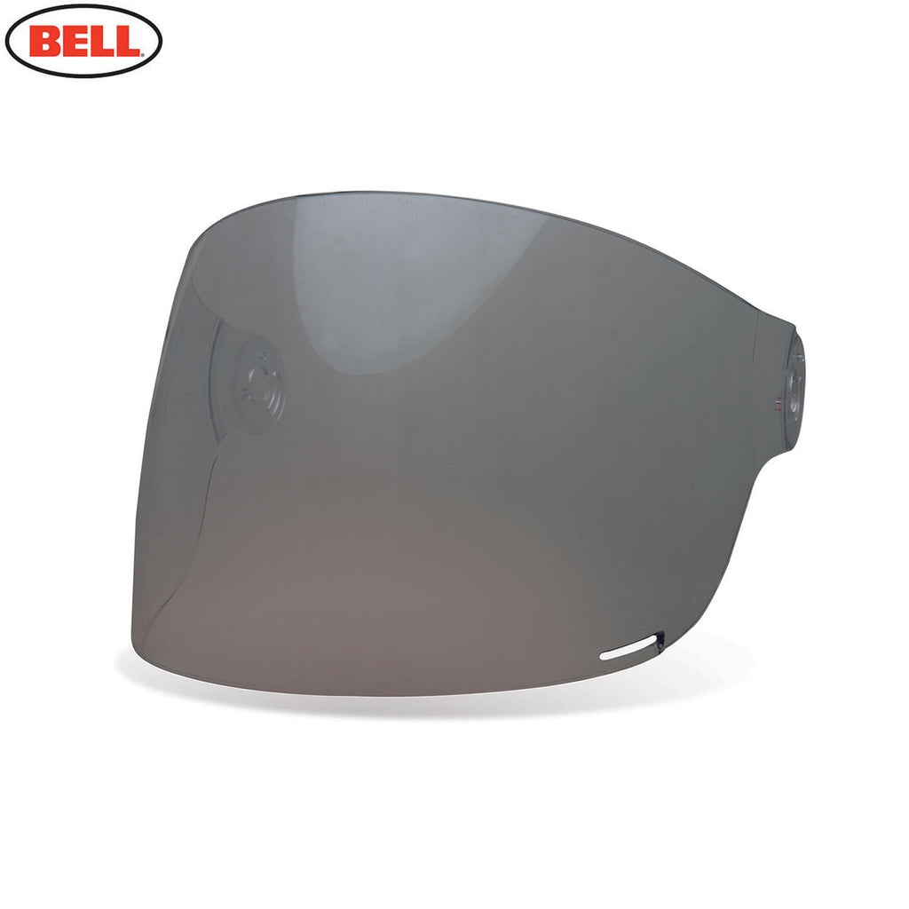 Bell Bullitt Helmet Flat Shield / Visor (Brown Tabs) Dark Smoke - Bell -  - MSG BIKE GEAR