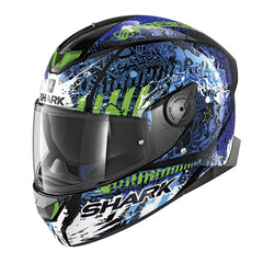 Shark Skwal 2 LED Helmet - Switch Rider 2 KBG